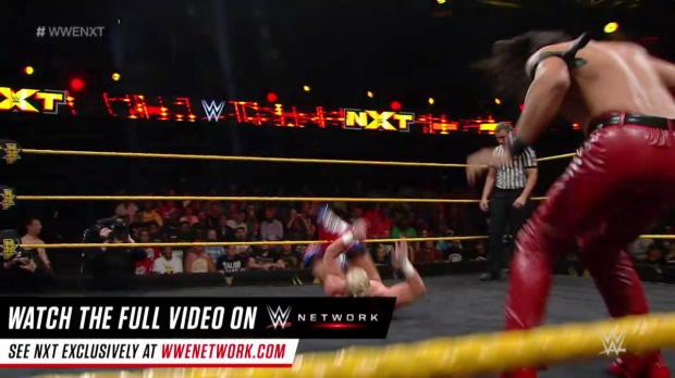 Shinsuke Nakamura vs. Wesley Blake: WWE NXT, July 27, 2016