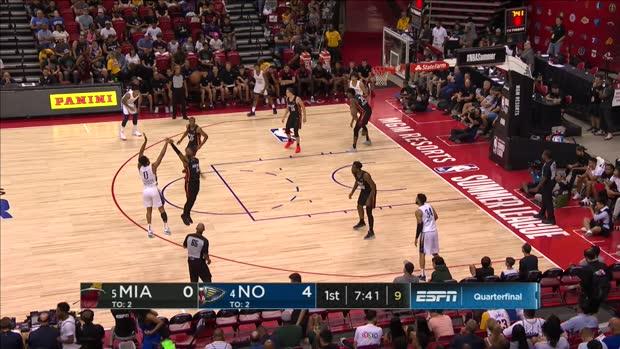 GAME RECAP: Pelicans 101, Heat 100