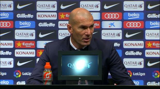 """Zidane nach Clasico: """"Einen Punkt gewonnen"""""""