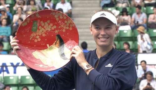 Osaka v Wozniacki Highlights: WTA Tokyo Final