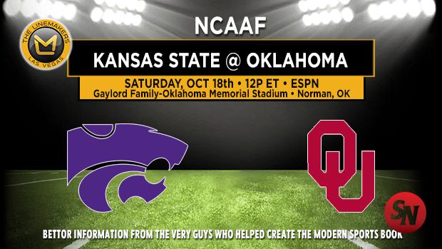 Kansas State Wildcats @ Oklahoma Sooners