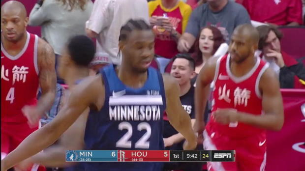 WSC: Andrew Wiggins (21 points) Highlights vs. Houston Rockets