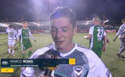 Marco Rojas said he pleased to score as Melbourne Victory downed Bentleigh 2-0 in the FFA Cup Quarter-Finals.