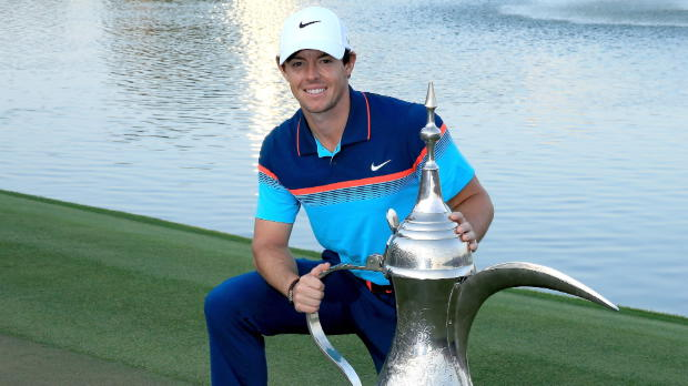 Anything other than a Dubai win would be 'disappointing' - McIlroy