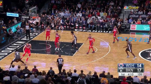 WSC: Bradley Beal 28 points vs the Nets