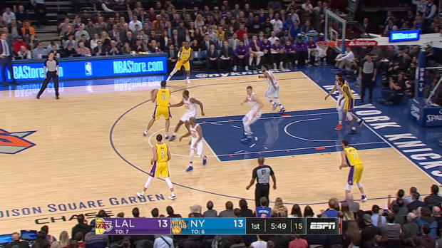Block Of The Night: Kristaps Porzingis