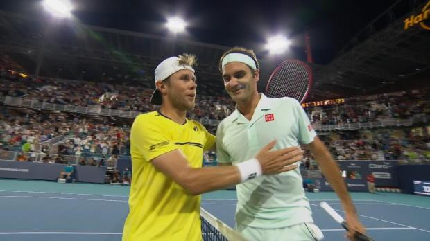 Basket : Miami - Federer s'est fait peur face à Albot