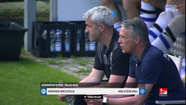 2. Bundesliga: Arminia Bielefeld - Holstein Kiel   DAZN Highlights