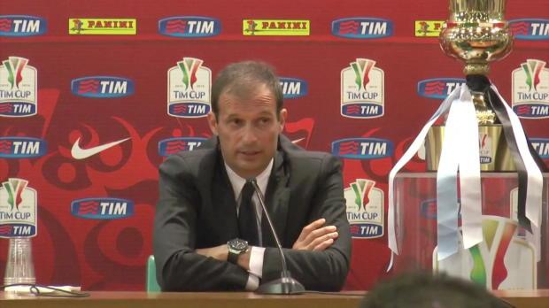 Coppa Italia: Allegri hat Barca im Hinterkopf