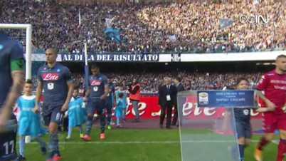 Serie A : Naples 3-3 Cagliari