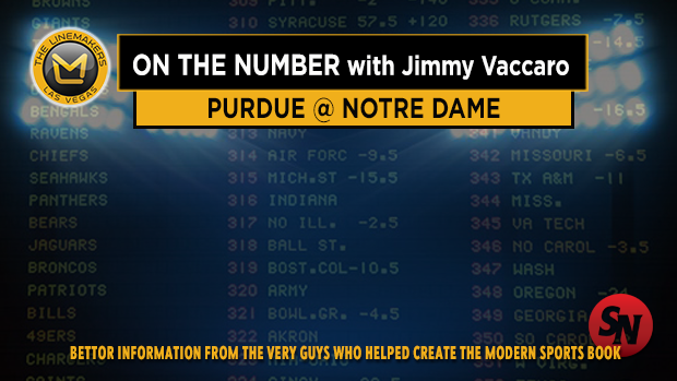 Jimmy V on Purdue @ Notre Dame