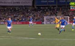 Just minutes after coming on, Caitlin Foord gave the Matildas the lead when she finished off from close range.
