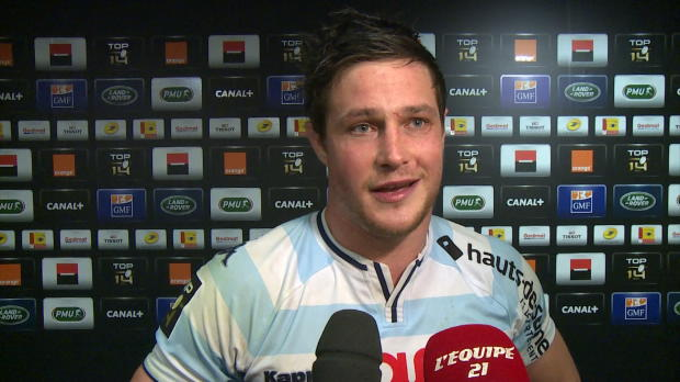 Top 14 - Top 14 : Chavancy : 'Je pourrais terminer ma carri�re l�:dessus'