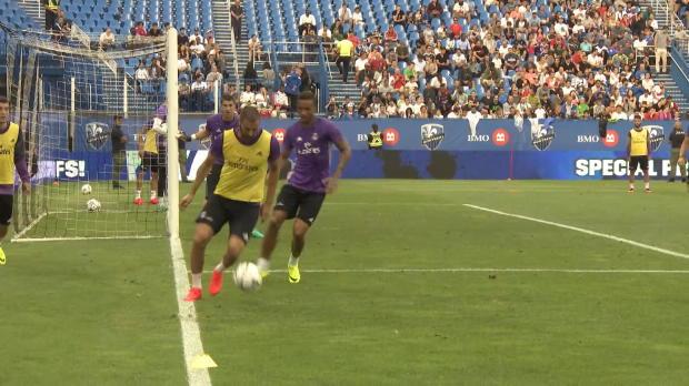 El golazo de Karim Benzema en EEUU