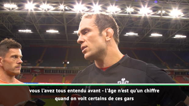 "Rugby : Test Match - Alun Wyn Jones :""Il faut qu'on se lâche"""