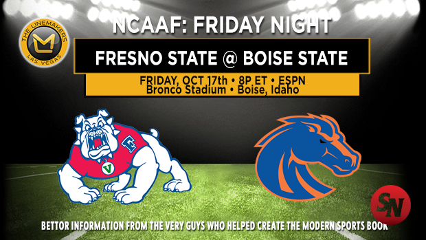 Fresno State Bulldogs @ Boise State Broncos