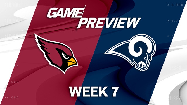 Arizona Cardinals vs. Los Angeles Rams preview | 'NFL Playbook'