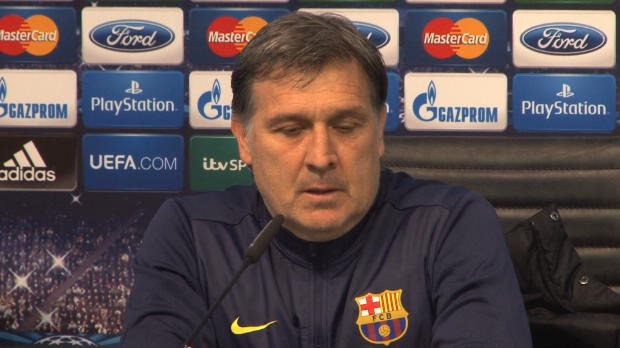 LDC - 8�me finale, FC Barcelone, Martino veut la possession