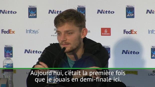 """Tennis : ATP - Masters - Goffin - """"La plus belle victoire de ma carrière"""""""