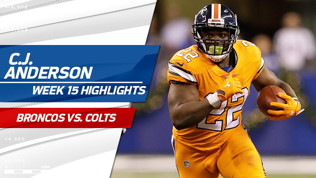 C.J. Anderson highlights | Week 15
