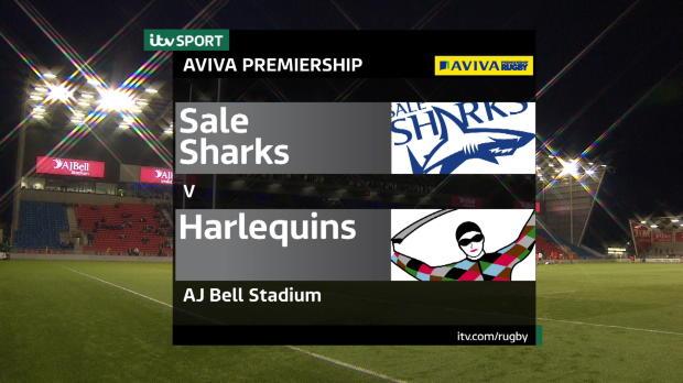 Aviva Premiership - Match Highlights - Sale Sharks v Harlequins