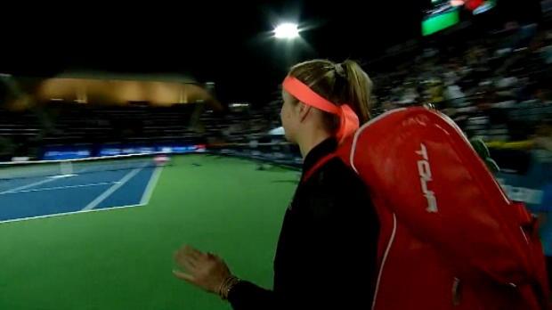 تنس: بطولة دبي: سفيتولينا تهزم كيربر 6-3 و7-6