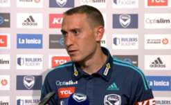 Hear from Melbourne Victory's Spanish defender Alan Baro on his future and playing in the Hyundai A-League.