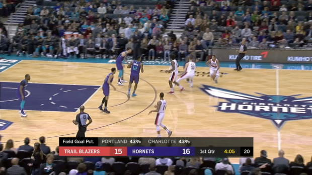 GAME RECAP: Trail Blazers 93, Hornets 91