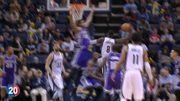 Memphis Grizzlies' Top 20 Plays of the 2016-2017 NBA Season