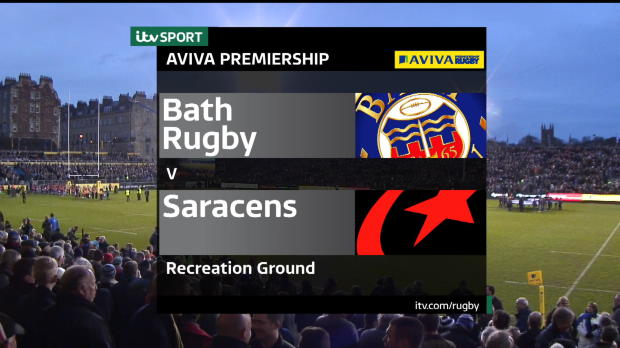 Aviva Premiership - Match Highlights - Bath Rugby v Saracens