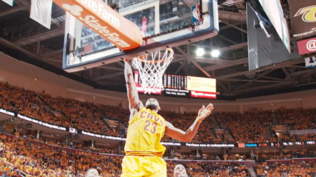 Basket : NBA - Play-offs - James rapproche les Cavs de la finale