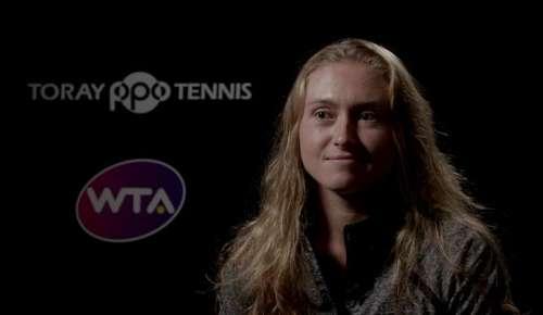 Sasnovich Interview: WTA Tokyo 2R