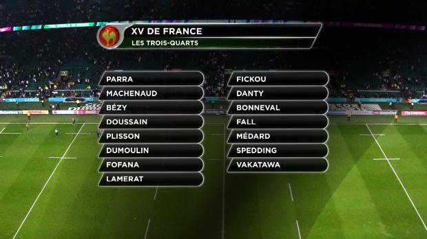 XV de France - Trois surprises dans la liste de Nov�s