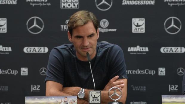 """Stuttgart: Federer über """"Sandplatz-König"""" Nadal"""