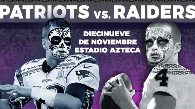 Patriots vs Raiders in Mexico Preview Trailer