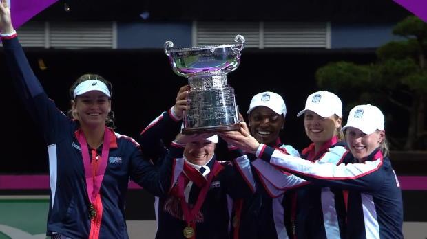 : Fed Cup - Les Américaines sacrées face à la Biélorussie