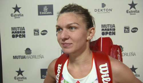 Halep Interview: WTA Madrid SF