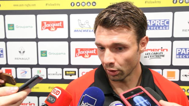 Top 14 - 2e j. : Clerc : 'On repart frustrés de Clermont'