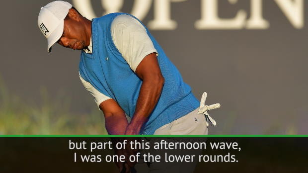 Opening round 'could have been better' - Tiger