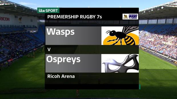 Aviva Premiership - Singha Rugby 7s - Wasps v Ospreys