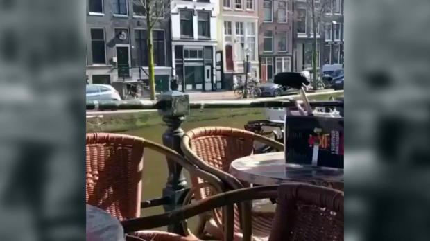 England: Three-Lions-Fans wüten in Amsterdam