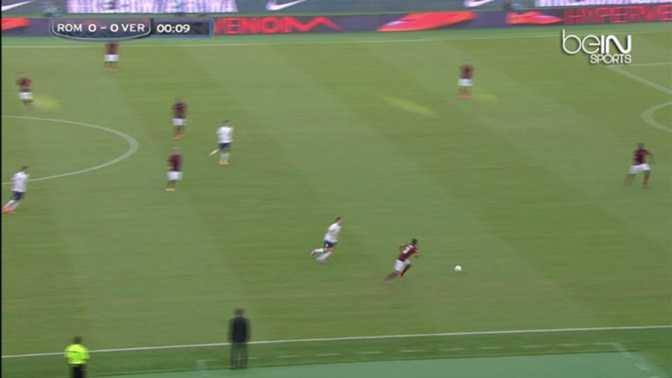 Serie A : AS Rome 2-0 Hellas Vérone
