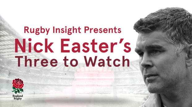 Aviva Premiership - IBM Rugby Insight - Nick Easter?s 3 to Watch v Argentina