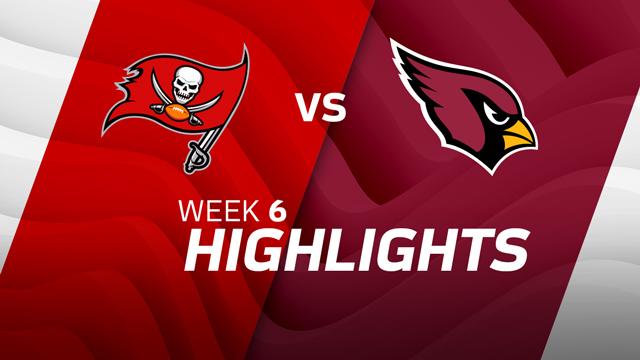 Tampa Bay Buccaneers vs. Arizona Cardinals highlights | Week 6