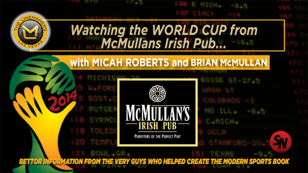 Watching the World Cup in Las Vegas: McMullans Irish Pub