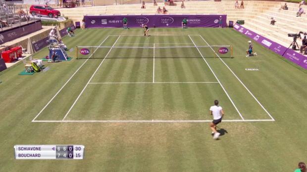 Tennis: Schiavone verliert Ball