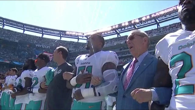 Judy Battista: League does not want to force players to stand during anthem