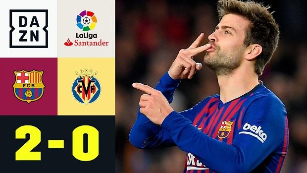 LaLiga: FC Barcelona - Villarreal | DAZN Highlights