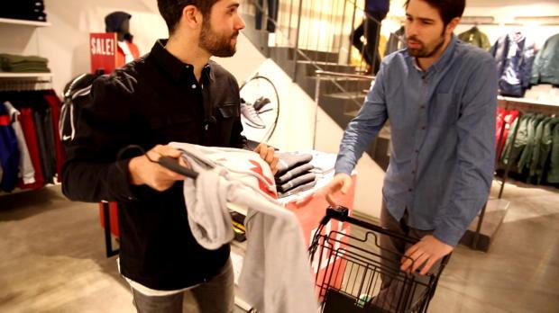 Fastbreak: Herzi und Tobi im Kaufrausch