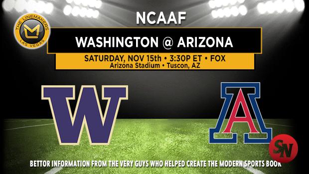 Washington Huskies @ Arizona Wildcats